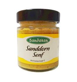 Sandokan Leckerer Sanddorn-Senf - ein herzhafter Genuss - 190 ml