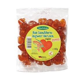 Sandokan Bio-Sanddorn-Ingwer-Herzen