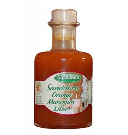 Sandokan Sanddorn-Orange-Marzipan-Likör 0,2 l Chagall