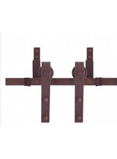 Schouten Woonidee Dubbel Schuifdeursysteem Antiek