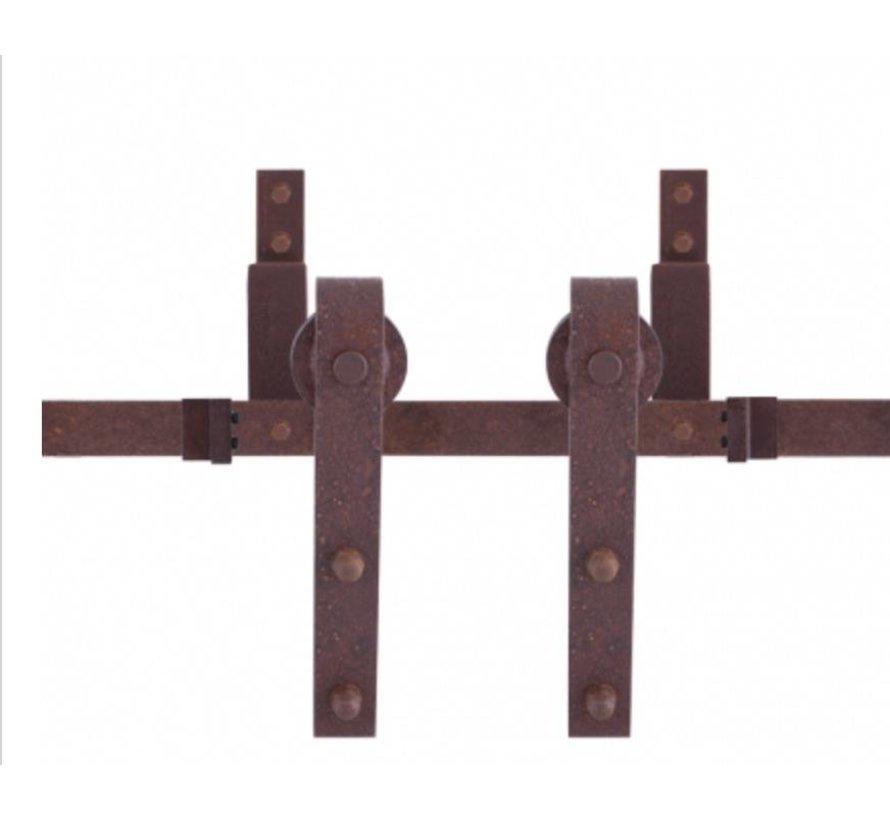 Dubbel Schuifdeursysteem Antiek