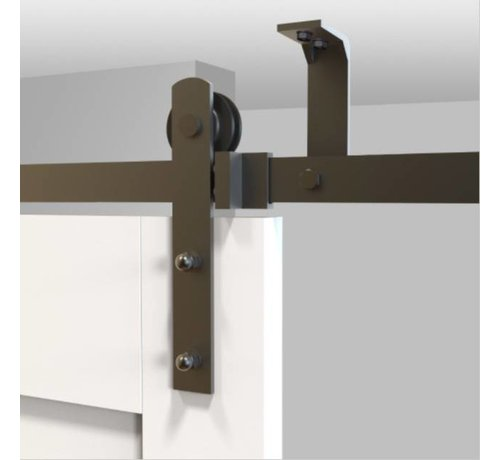 Systeem Voor Schuifdeur.Plafond Schuifdeursysteem Compleet Schouten Woonidee