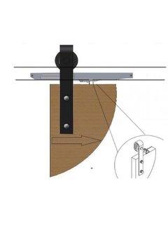 Schouten Woonidee Softclose systeem voor schuifdeurbeslag