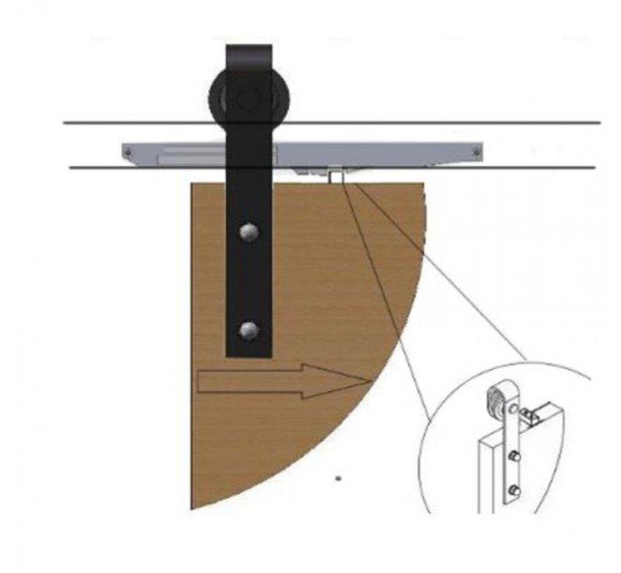 Softclose systeem schuifdeur