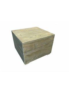 Schouten Woonidee Hocker Tafel Gebruikt Steigerhout