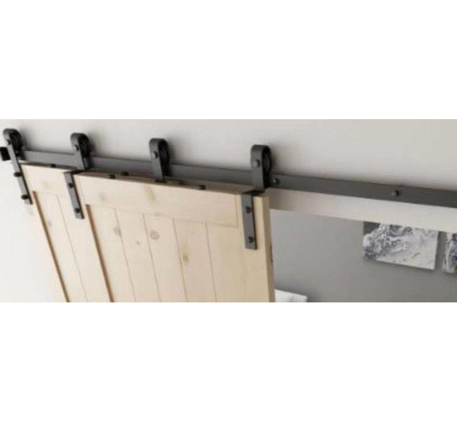 Losse schuifdeuren voor kast monteren