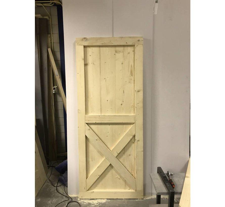 Loftdeur onbehandeld  Steigerhout New Style op maat