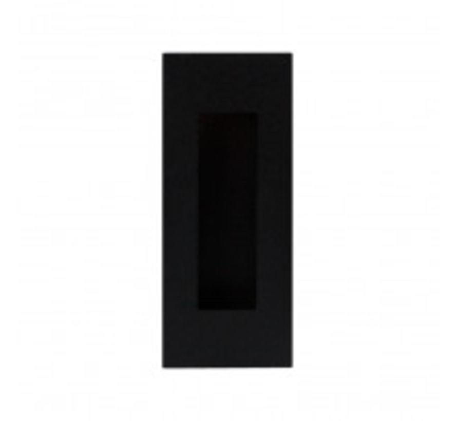 Schuifdeur greep zwart - schuifdeurkom