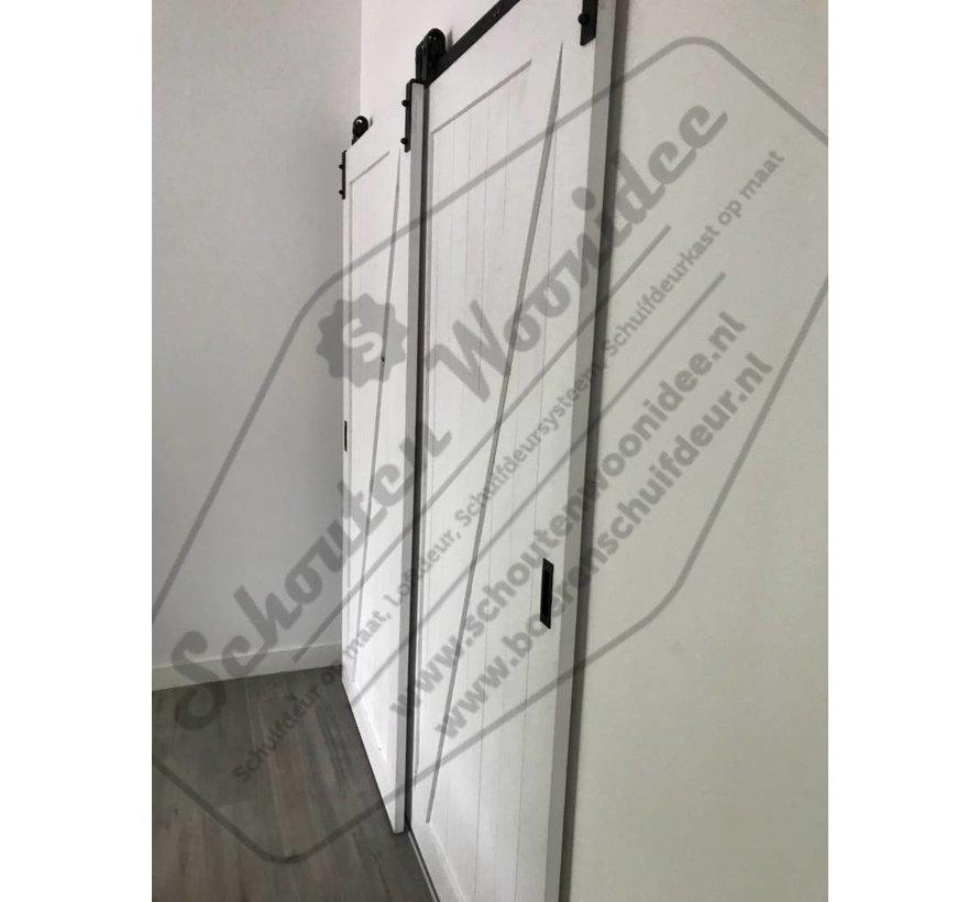 Schuifdeursysteem kast -  schuifdeuren voor kast monteren