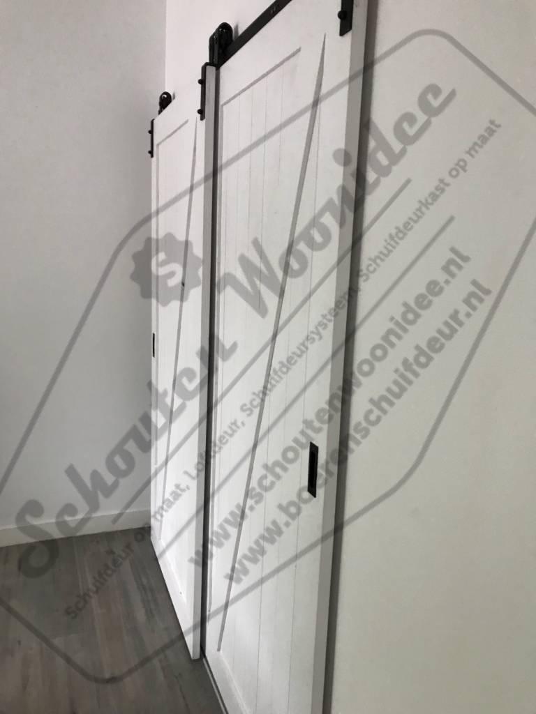 Schouten Woonidee Schuifdeursysteem Kast Schuifdeuren Voor Kast Monteren