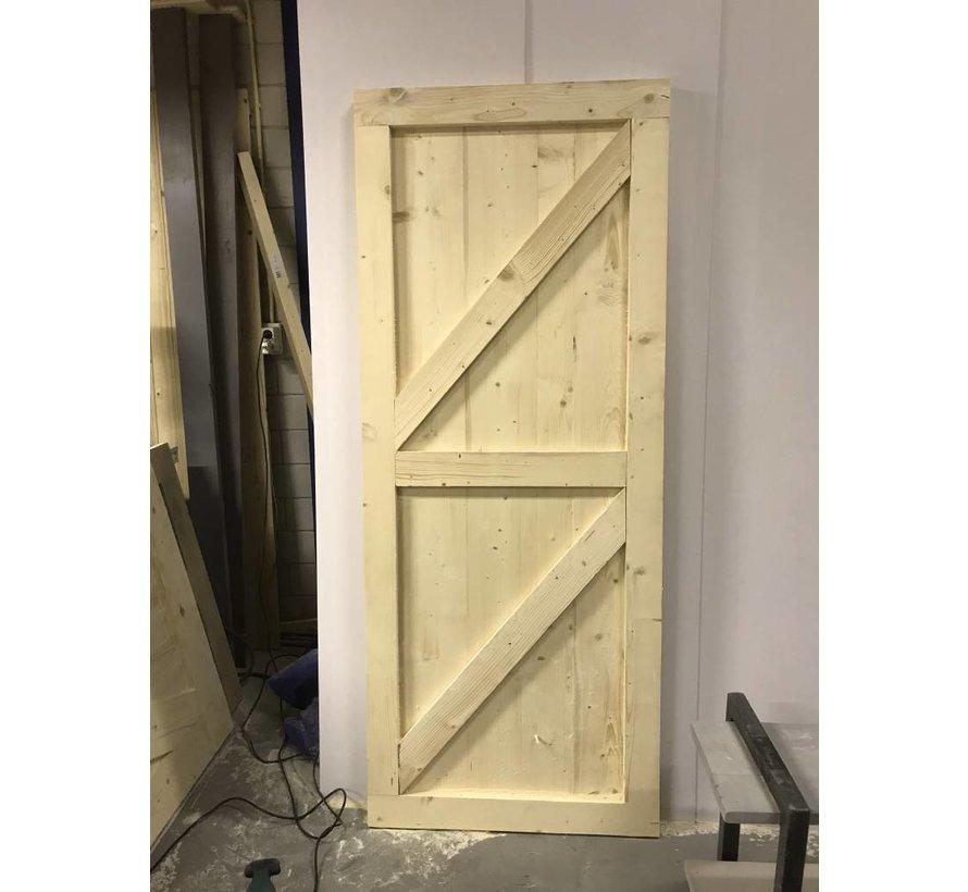Loftdeur onbehandeld  Steigerhout  - Copy