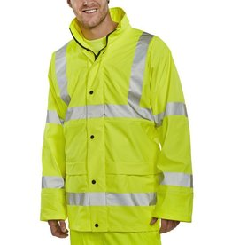 B Seen Hi Vis PU Jacket