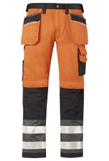 Snickers Workwear Snickers Workwear Hi Vis Holster Pocket Trousers