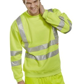 B Seen Hi-Vis Sweatshirt