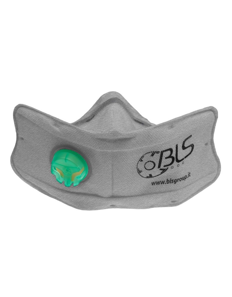 BLS Flickit FFP2 Valved Mask with Activated Carbons