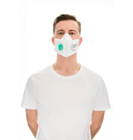 BLS Flickit 860- FFP3 Valved Mask (Single)