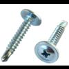 Metal stud Teksschroef 4,2 x 13 mm Zelfborend met ring