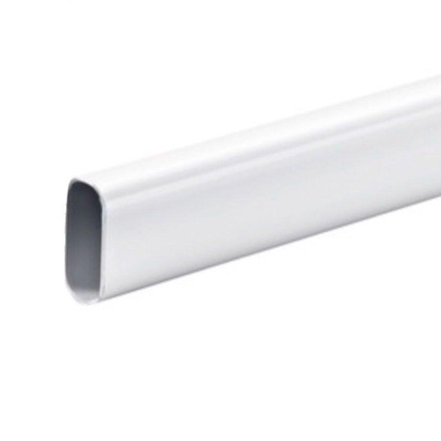 Kastroede Wit Ovaal 1000mm Staal