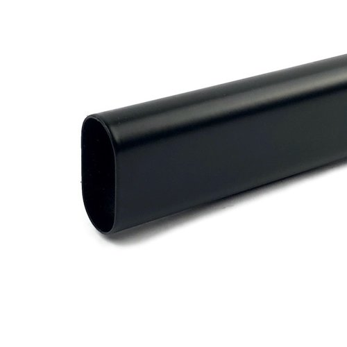 Kastroede Zwart Ovaal 1000mm Staal