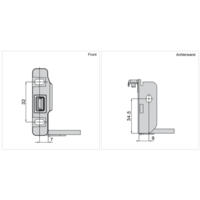 Zelfbouwlade BASIC  450mm - zelfbouwpakket 150mm