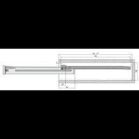Zelfbouwlade BASIC  400mm - zelfbouwpakket 150mm