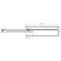 Zelfbouwlade BASIC 300mm - zelfbouwpakket 86mm