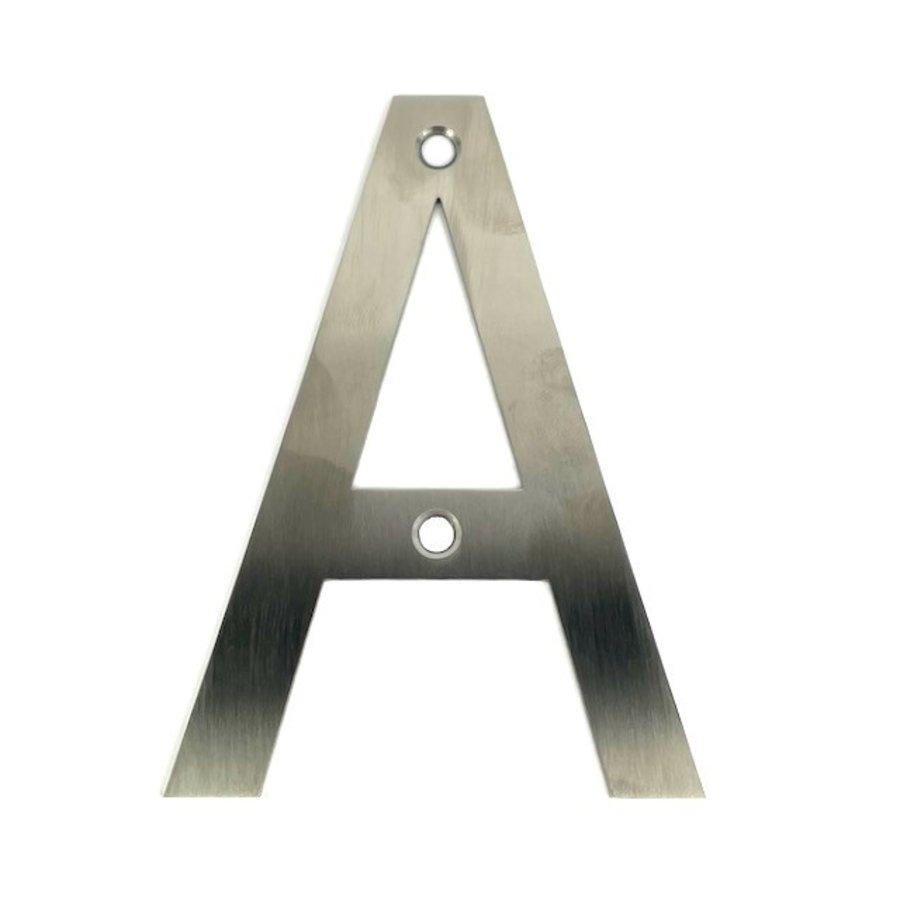 RVS bord letter A