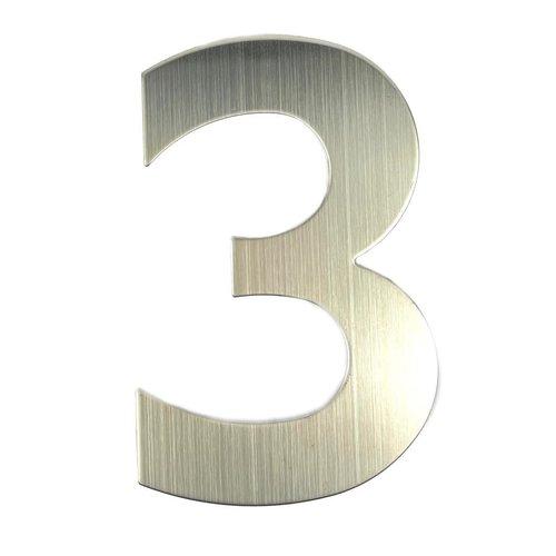RVS huisnummer 3