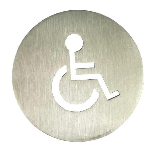 RVS bord invalidentoilet