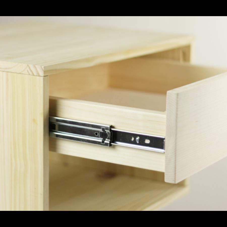 Softclose + Push to Open Combo Ladegeleiders 550mm