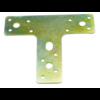 T Plaat Staal 150x130mm