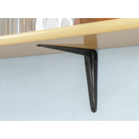Schapdrager Staal Zwart 125x100mm