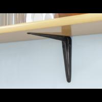 Schapdrager Staal Zwart 150x125mm