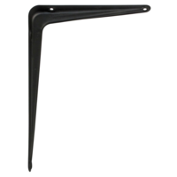 Schapdrager Staal Zwart 300x250mm