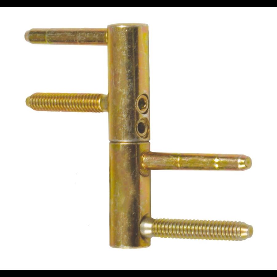 Inboorpaumelle 16x80mm - 3D verstelbaar