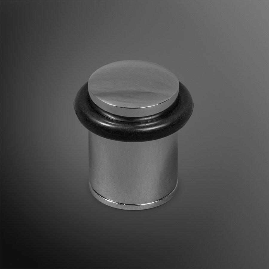 Deurstopper - chroom 28x40mm