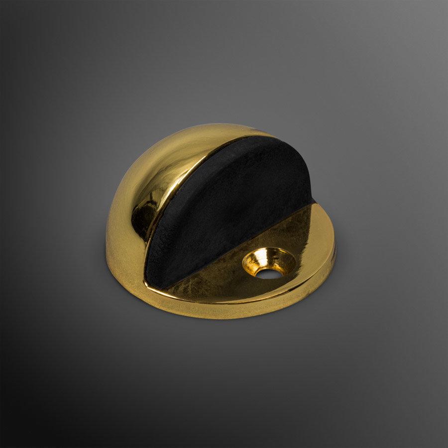 Deurstopper - goudkleurig gepolijst 45x25mm