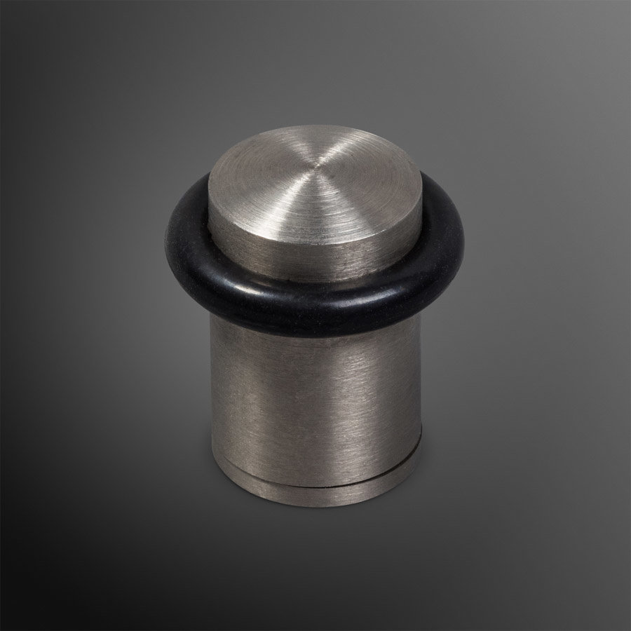 Deurstopper - RVS mat 20x30mm