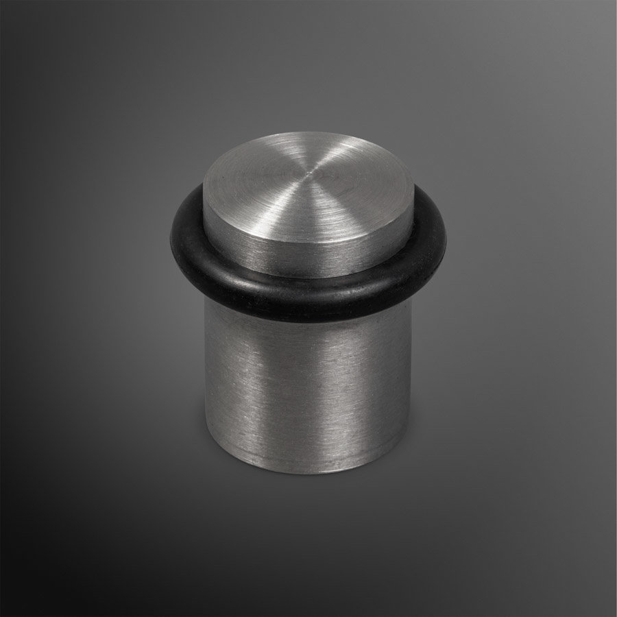 Deurstopper - RVS mat 30x40mm