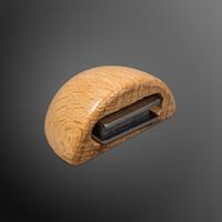 Deurstopper met magneet - beuk - plakken 48x25mm
