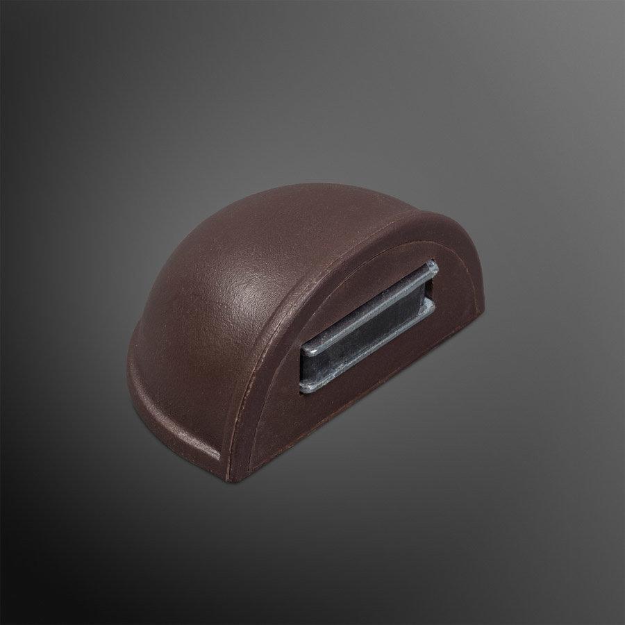 Deurstopper met magneet - bruin - plakken 48x25mm