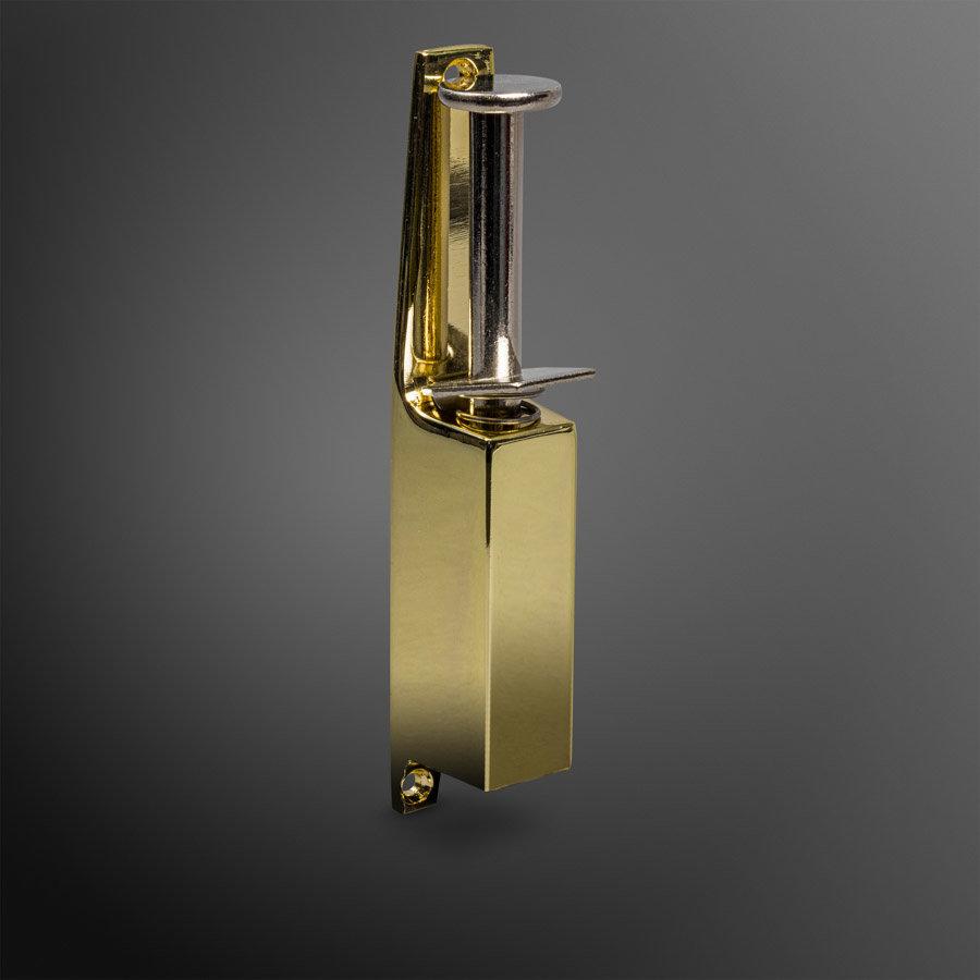 Deurvastzetter 170mm - goud