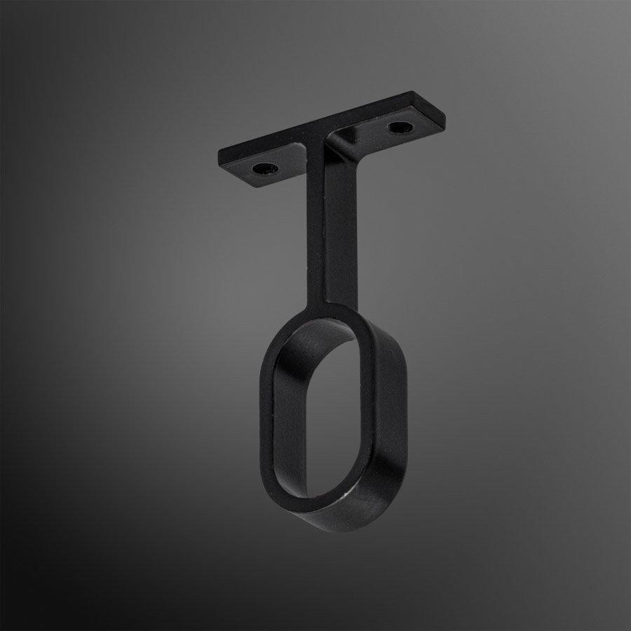 Kastroededrager Zwart 15x30mm Hangend