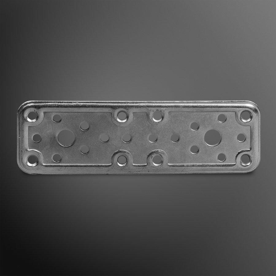Koppelplaat 160x50x2,2mm