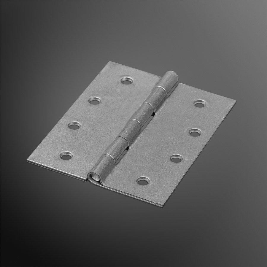 RVS Bladscharnier 100x80x2mm rechte hoek verzinkt
