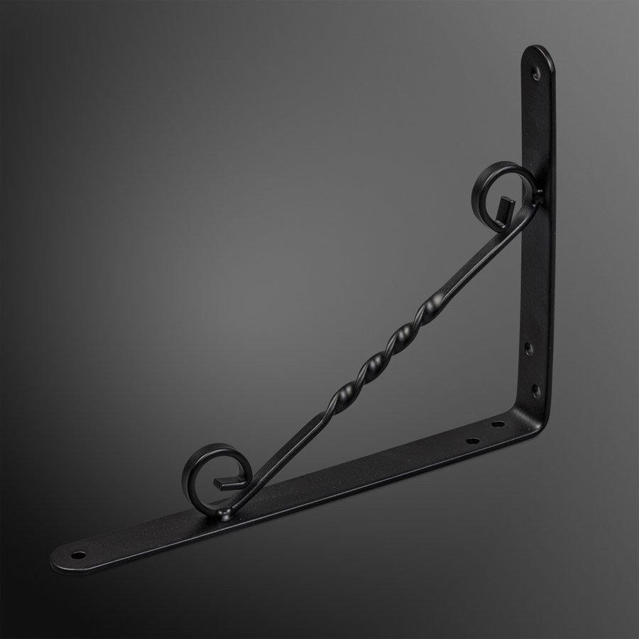 Schapdrager Swirl Staal zwart 200x150mm