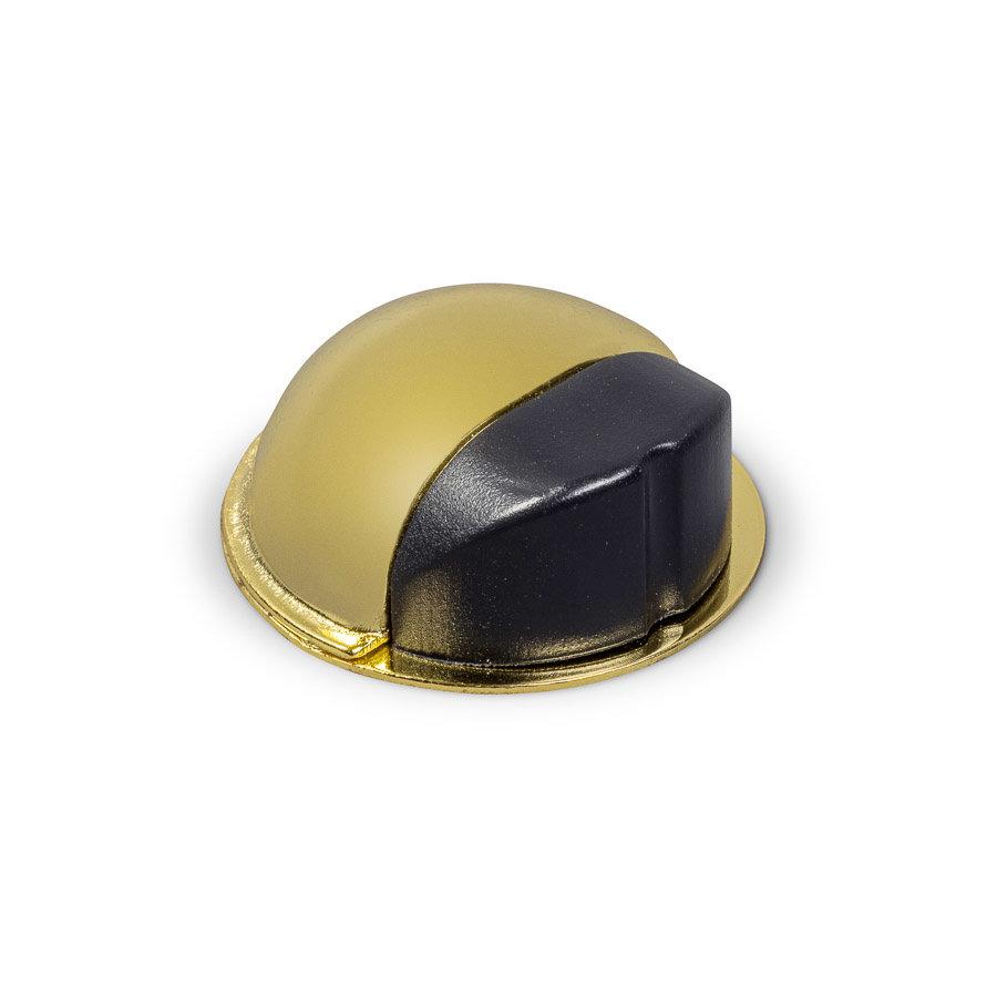 Deurstopper - goudkleurig gepolijst - plakken 50x22mm