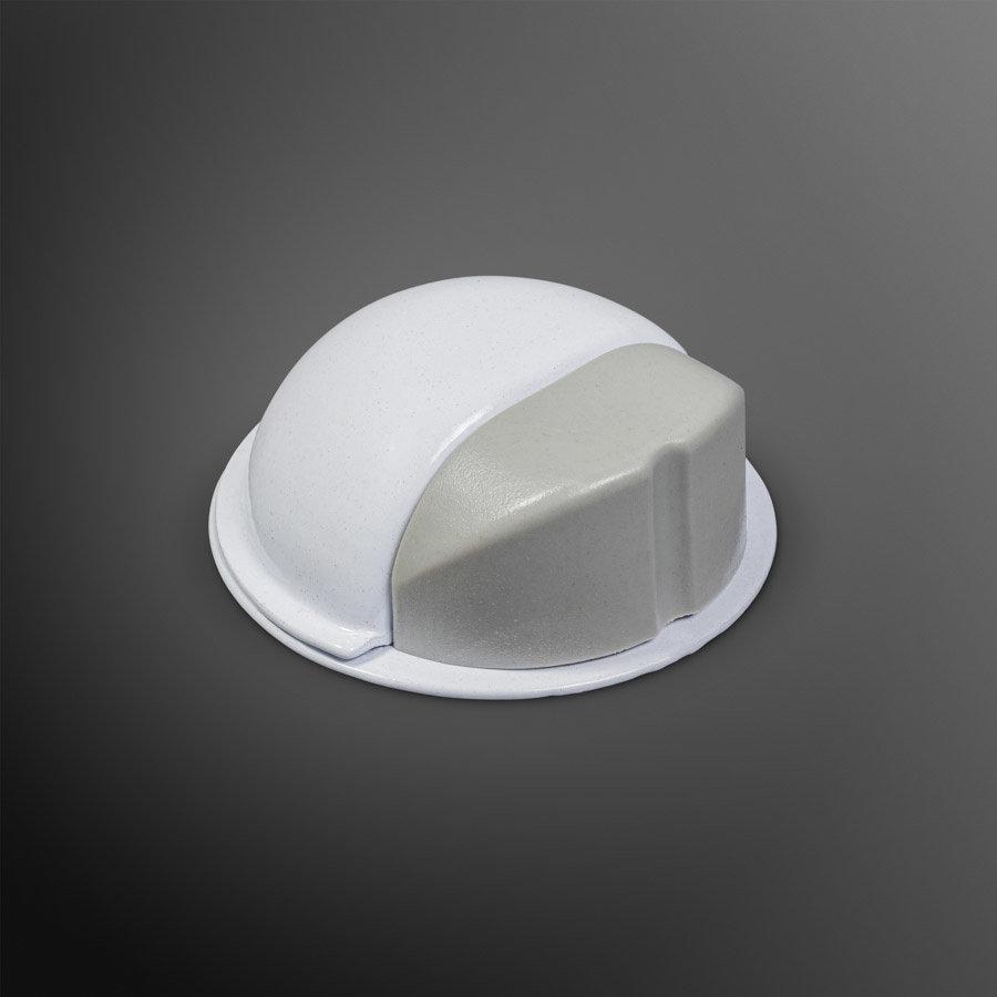 Deurstopper - wit - plakken 50x22mm - Copy