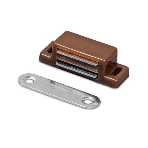 Magneetsnapper  Bruin  4KG