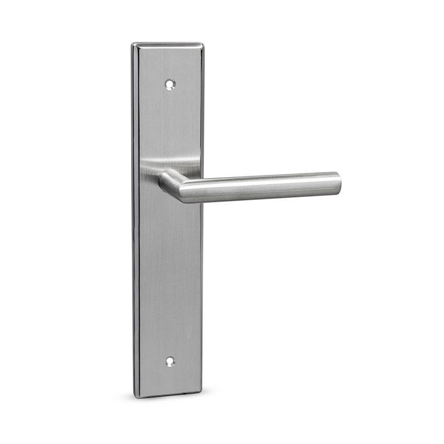 RVS deurkruk blind 300 rechts x 60mm